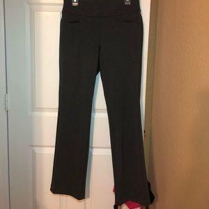 Gray NY&C boot cut pants